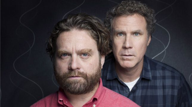 Zach Galifianakis - Will Ferrell