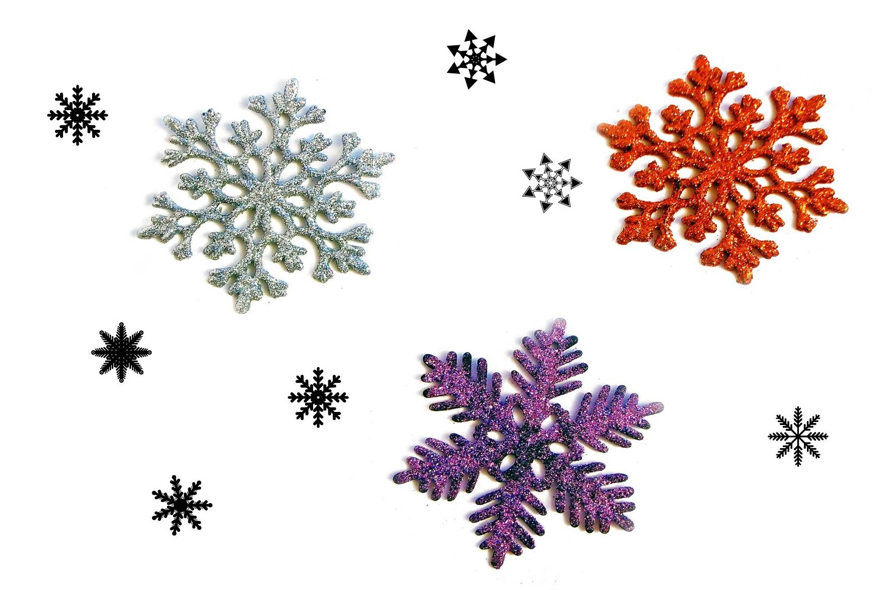 Neve Chimica - Chimistry Snowflakes - Neige Chimie - Nieve Quimica